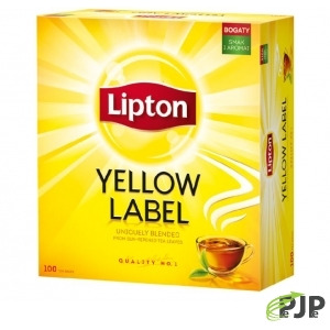 HERBATA LIPTON YELLOW LABEL 100 TOREBEK, 200,00002