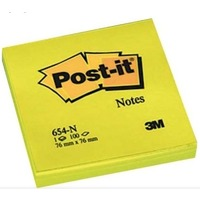 NOTES 654N POST-IT 76X76 ŻÓŁTY 100 SZT